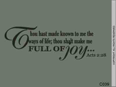 Thou hast