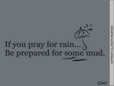 If you pray