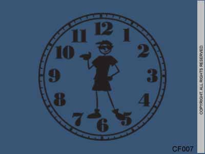 Cool Boy Clock