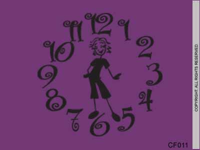 Busy Mom Clock