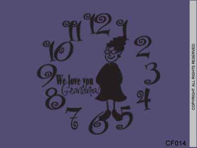 Grandma Clock