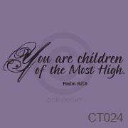 You are children