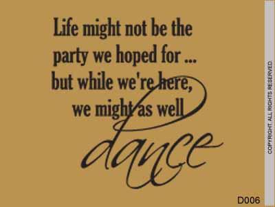 Life might