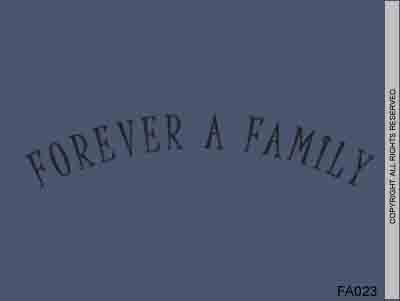 Forever a Family