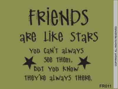 Friends are