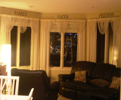 Friends, Faith, Family  in Family Room