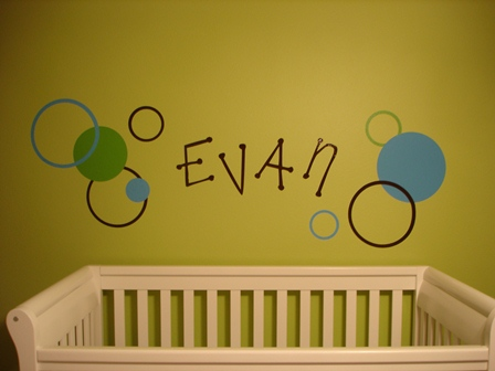 Name in Kids Room