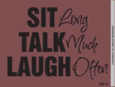 Sit long
