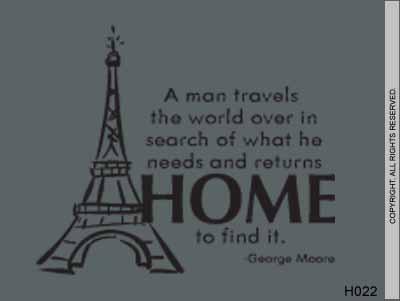 A man travels