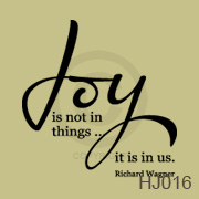 Joy is not