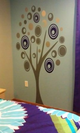 Contemporary CIRCLE Tree