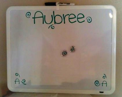 Dry Erase Boards Personalized