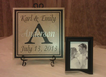 Wedding Tile 12 x 12