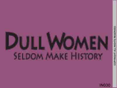 Dull women