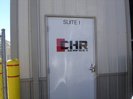 Business Logo on Door