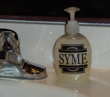 Soap Bottle Name