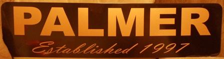 """""""Established"""" Metal Sign"""