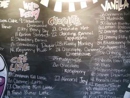 Custom Chalkboard