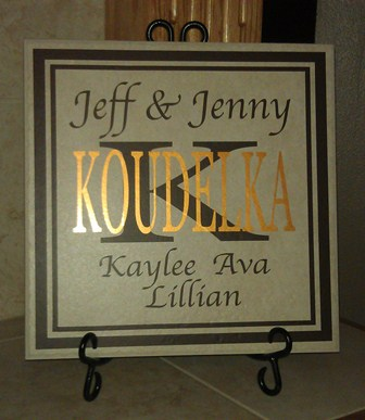 Custom Family Tile