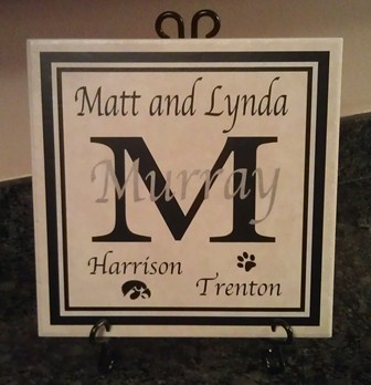 Personalized Family Tile