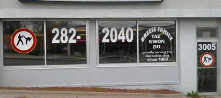 Business Window Advertising