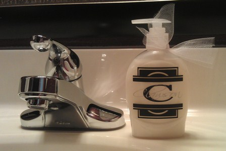 Contemporary Soap Bottle