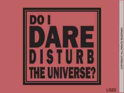 Do I dare