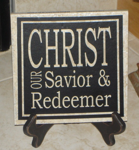 "6"" x 6"" Christ our Redeemer Tile"