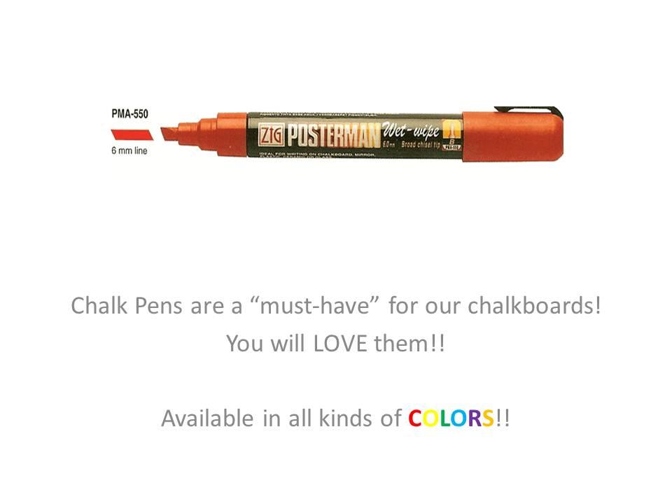 Chalk-Ink Pens