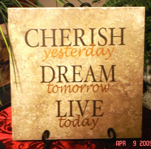 "12"" x 12""   'Cherish Dream' Tile"