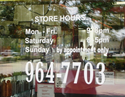 Business Store Hours