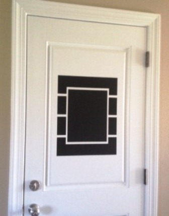 Contemporary Vinyl Chalkboard