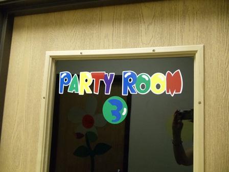Indoor Lettering on Doors