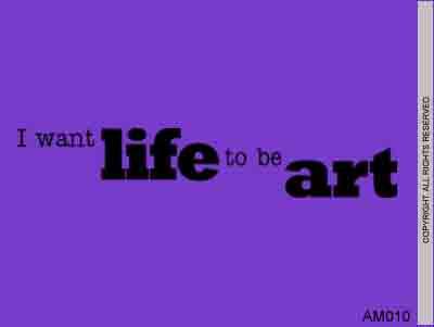 I want life
