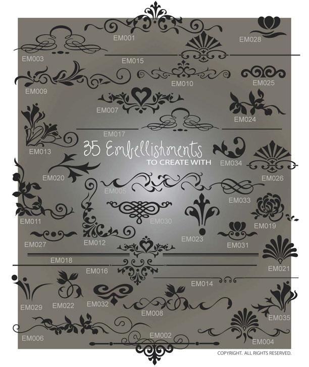 Embellishments I