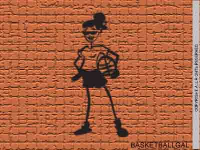 Basketball gal