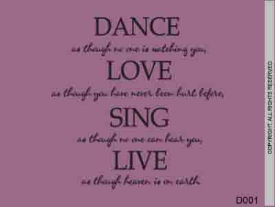 Dance as