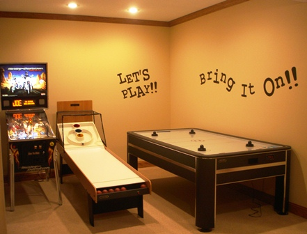 Game Room Lettering
