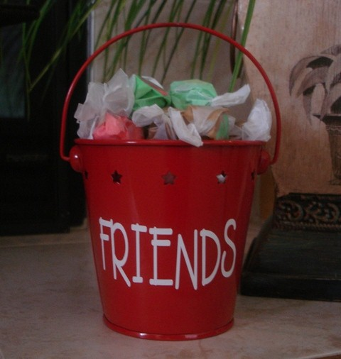 Bucket of Love for a FRIEND