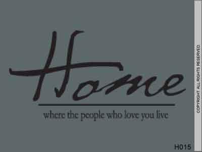 Home where