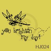 You brighten