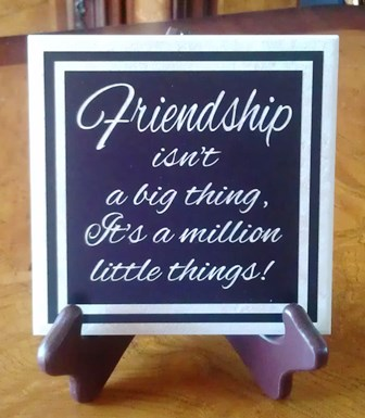 Friendship Tile