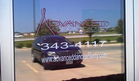 Business Door Lettering