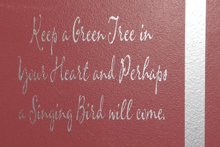 Bird Tree Saying
