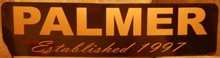 """Established"" Metal Sign"