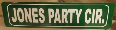 """""""Street Sign"""" Metal Sign"""