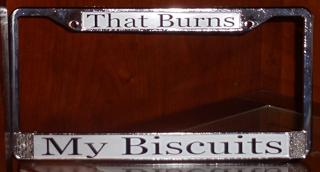 Personalized License Plate Cover
