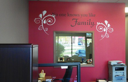 Decorative Vinyl Wall Designs for Businesses