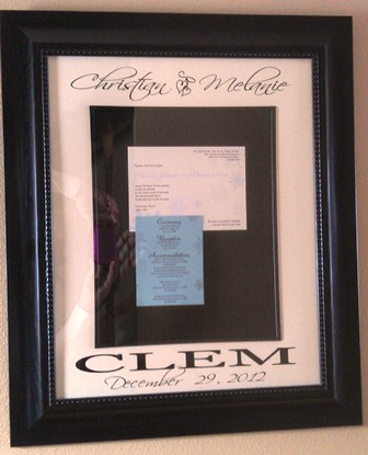 "16"" x 20"" Wedding OPEN Picture Frame"