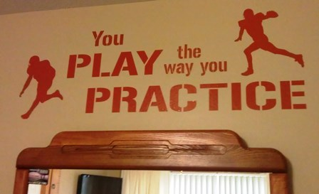 Play the way you practice